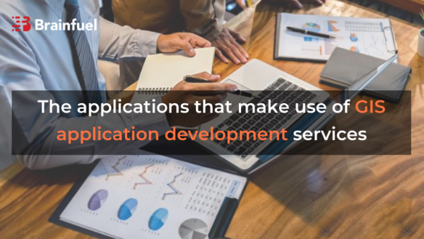 The applications that make use of GIS application development services