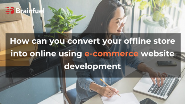 How can you convert your offline store into online using e-commerce website development