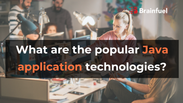 What are the popular Java application technologies?
